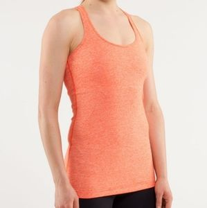 Lululemon Cool Razorback tank Heathered Da…